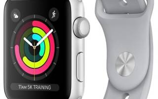 Apple Watch 1 Aluminum отзывы