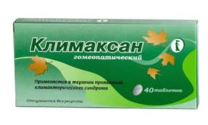 Отзыв о Климаксан гомеопатический