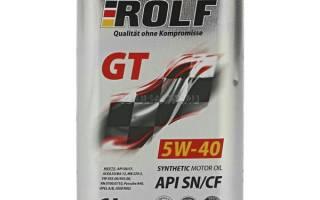 Отзыв о Моторное масло Rolf