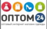 Отзыв об Оптовый магазин одежды «Оптом24»