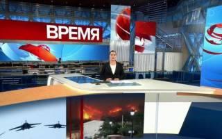 Отзыв о Первый канал Новости