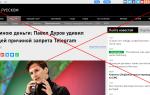 Павел Дуров отзывы