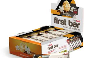 Отзыв о Be First Протеиновый батончик First bar по 40 гр (ваниль)