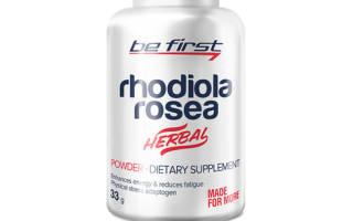 Be First Rhodiola Rosea Powder 33 г отзывы