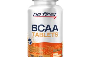 Отзыв о Be First BCAA Tablets 120 таб