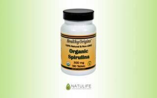 Органическая спирулина Healthy Origins отзывы