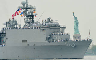 Отзыв о Десантный корабль ВМС США вошёл в чёрное море