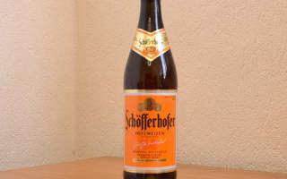 Светлое пиво Schofferhofer Hefeweizen отзывы