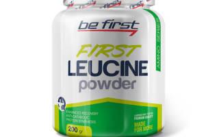 Be first First Leucine Powder отзывы