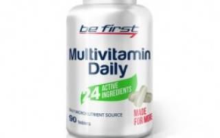 Отзыв о Be First Multivitamin Daily 90 таблеток
