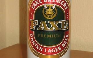 Отзыв о Пиво Faxe